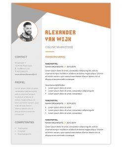 CV Alexander - oranje 2