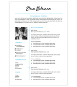 CV Elisa - blauw 1