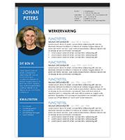 CV Johan - blauw 1