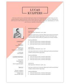 CV Lucas - roze