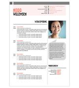 CV Nora - roze 1