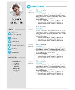 CV Olivier - blauw 1