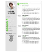 CV Olivier - groen 1