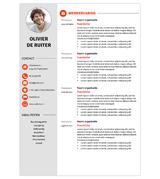 CV Olivier - rood 1