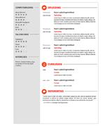 CV Olivier - rood 2