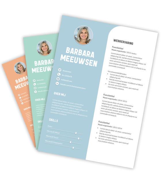 CV-template Barbara