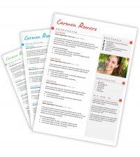 CV-template Carmen
