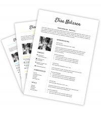 CV-template Elisa