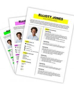 CV-template Elliott