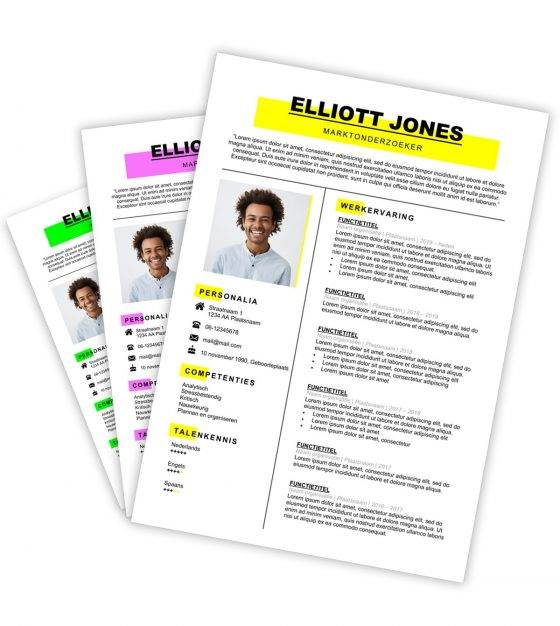 CV-template Elliott
