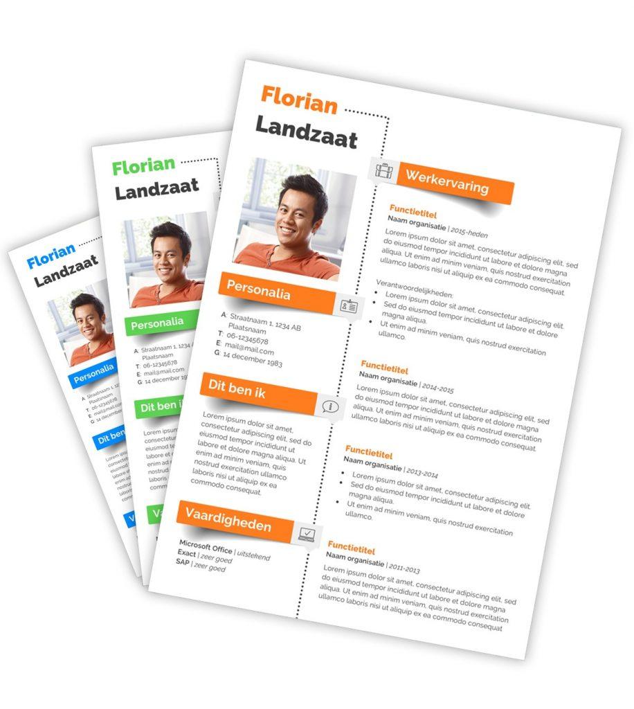 CV-template 'Florian'
