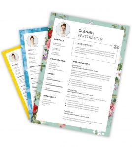 CV-template 'Glennis'