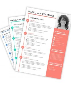 CV-template Isabel