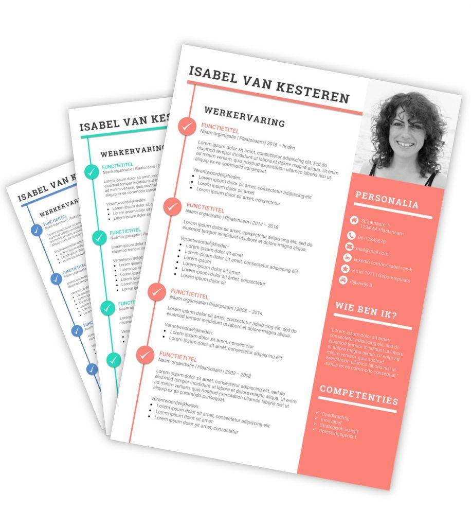 CV-template 'Isabel'