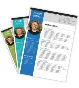 CV-template 'Johan'