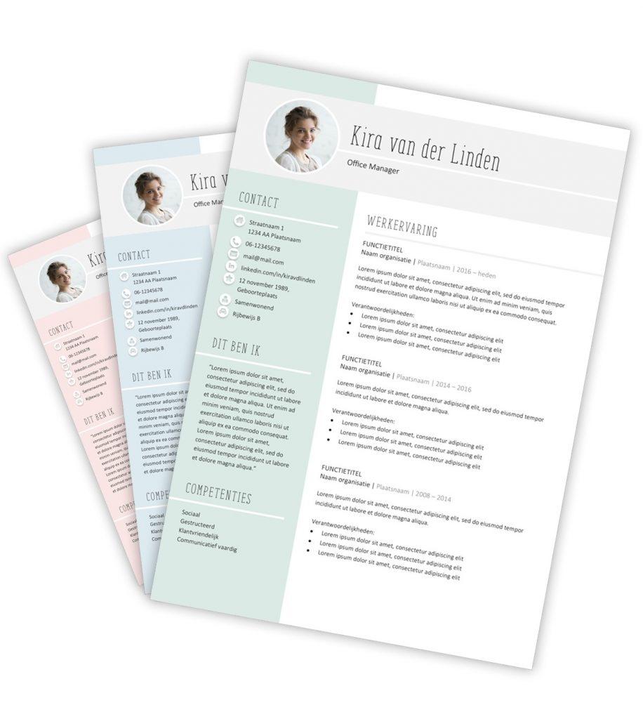 CV-template 'Kira'