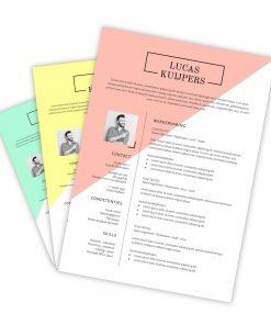 CV-template Lucas