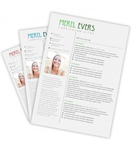 CV-template 'Merel'