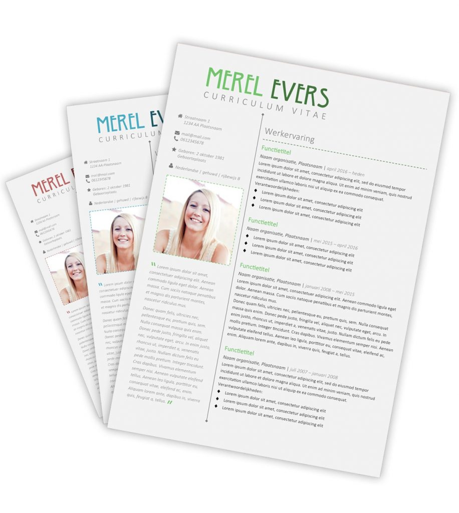 CV-template Merel