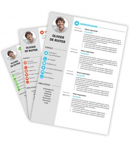 CV downloaden | Curriculum Vitae downloaden op Creatief CV.nl