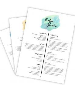CV-template Robyn
