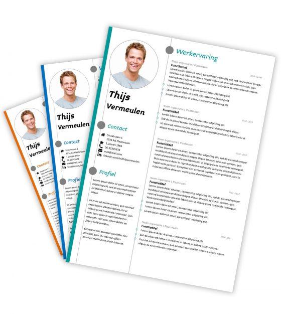 CV-template Thijs