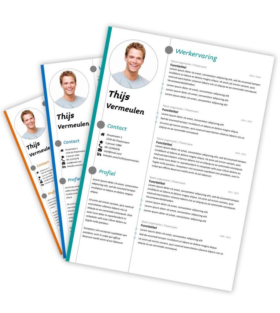 CV-template 'Thijs'