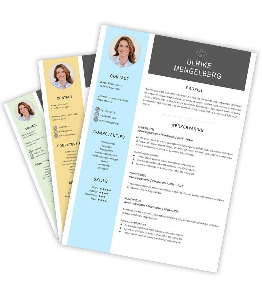CV-template 'Ulrike'