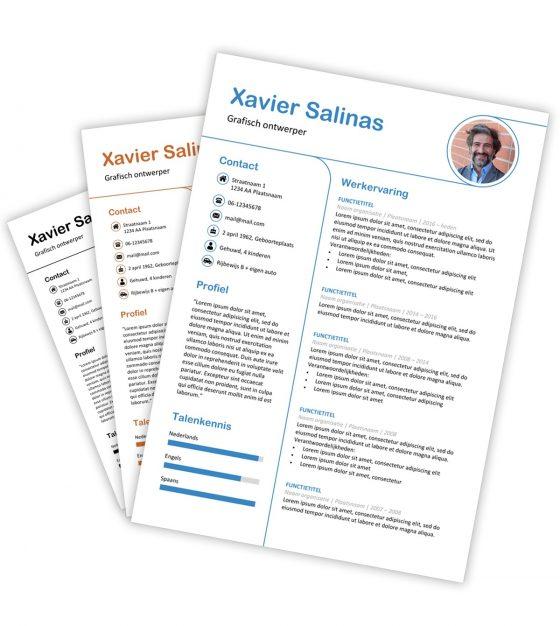 CV-template Xavier