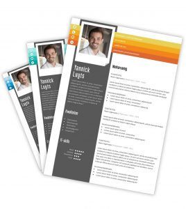 CV-template 'Yannick'