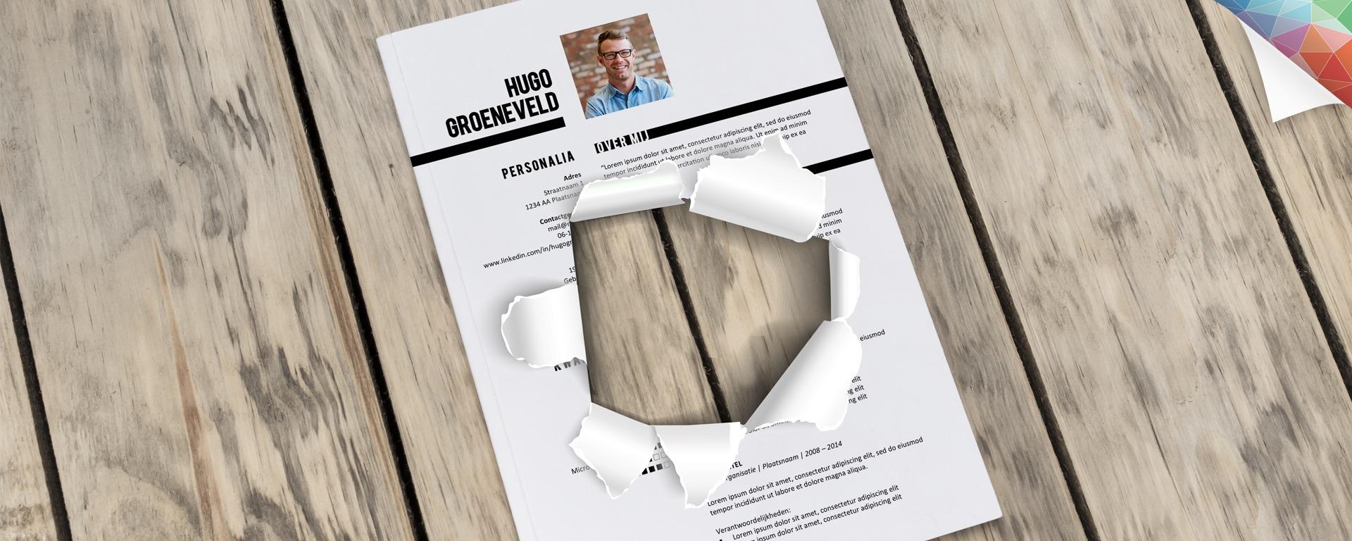 Gat in je CV, hoe ga je daarmee om? | Creatief CV.nl