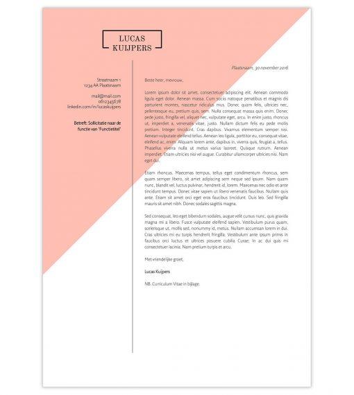 Optioneel: Sollicitatiebrief Lucas - roze