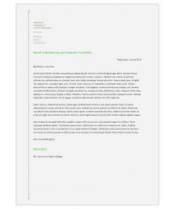 Optioneel: Sollicitatiebrief Merel - groen
