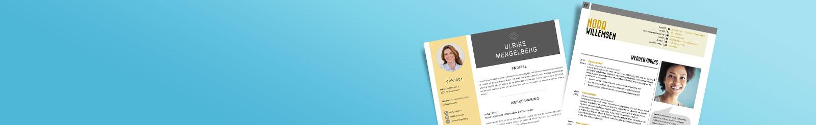 Header CV opstellen